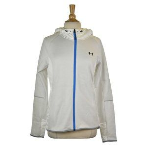 Under Armour Track Jackets MED White